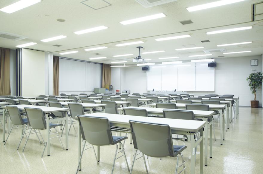 写真:学科教室