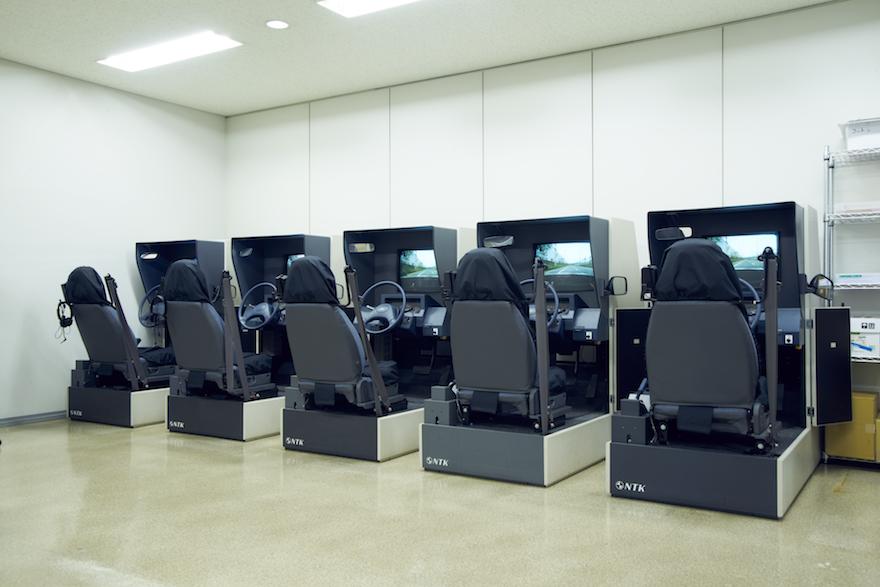 写真:模擬運転室