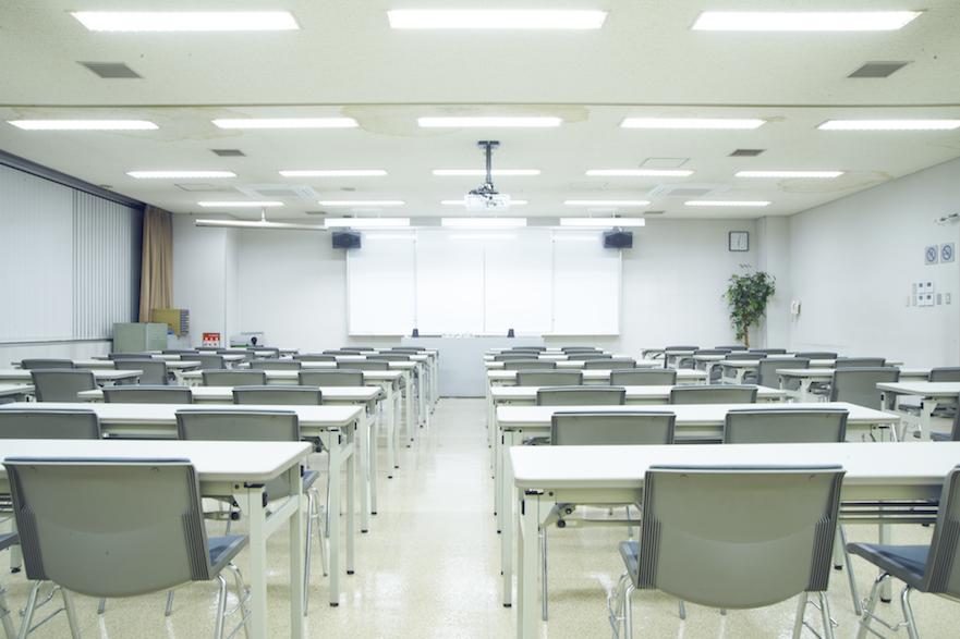 写真:ゆとりのある教室